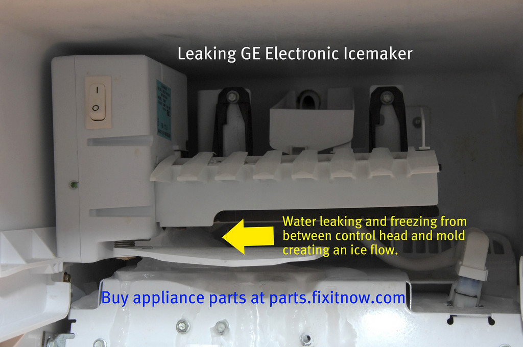 Leaking GE Icemaker