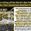Monsanto's Super Bees