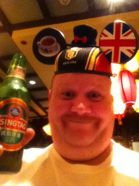 Mouse ears, Epcot beer tour, China&#33;