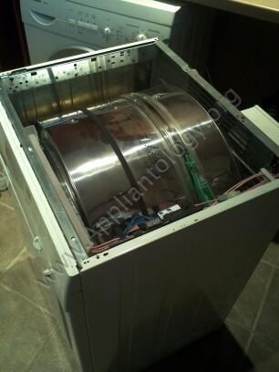 Bosch 24&quot; Axxis Dryer - Motor and Blower Replacement, 3 of 10