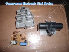 Compressor Electronic Start Device -  Disassembled