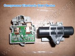 Compressor Electronic Start Device  - Assembled