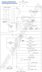 Frigidaire FRS6HR5JSB1 SxS Refrigerator Schematic
