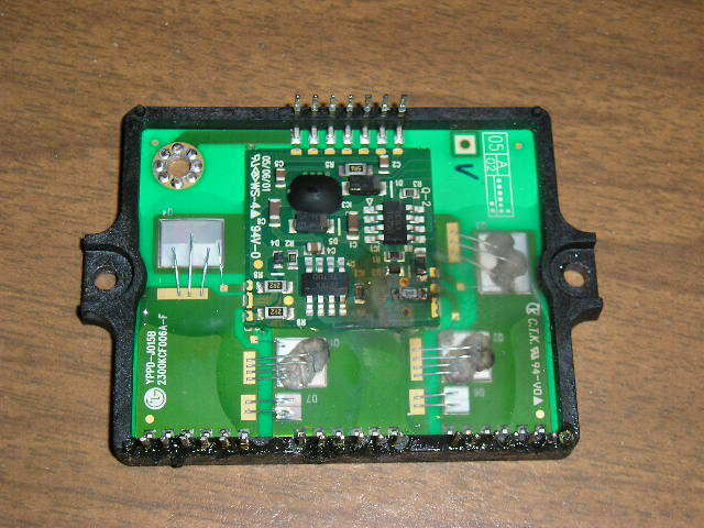 LG Washing Machine Control Board with Burn Spot