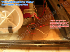 Whirlpool Direct Drive Washer - Burnt Motor Neutral Wire