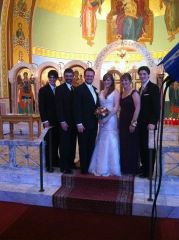 The Bride & Groom, and the Bride's Family