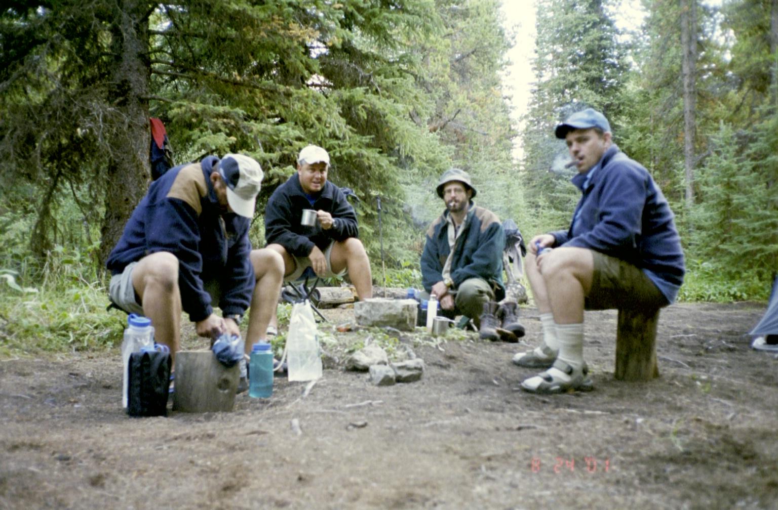The Fixit Boyz at Camp