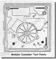 Whirlpool Modular Icemaker Test Points