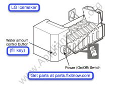 LG Icemaker Manual Harvest