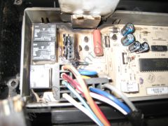 The Board where the Wire Harness Connector Attached - Kitchenaid Dishwasher Control Board