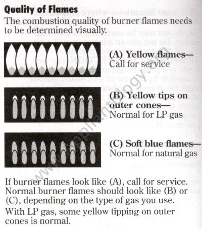 How to Evaluate Gas Flames