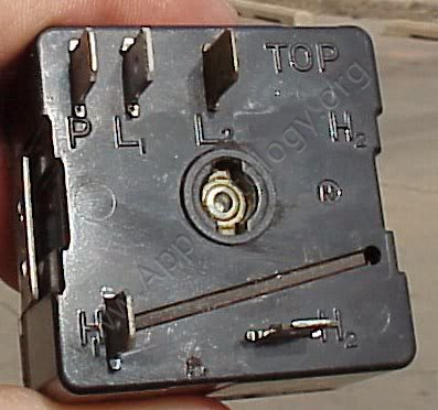 Infinite Switch for a Typical Electric Stove Burner Element