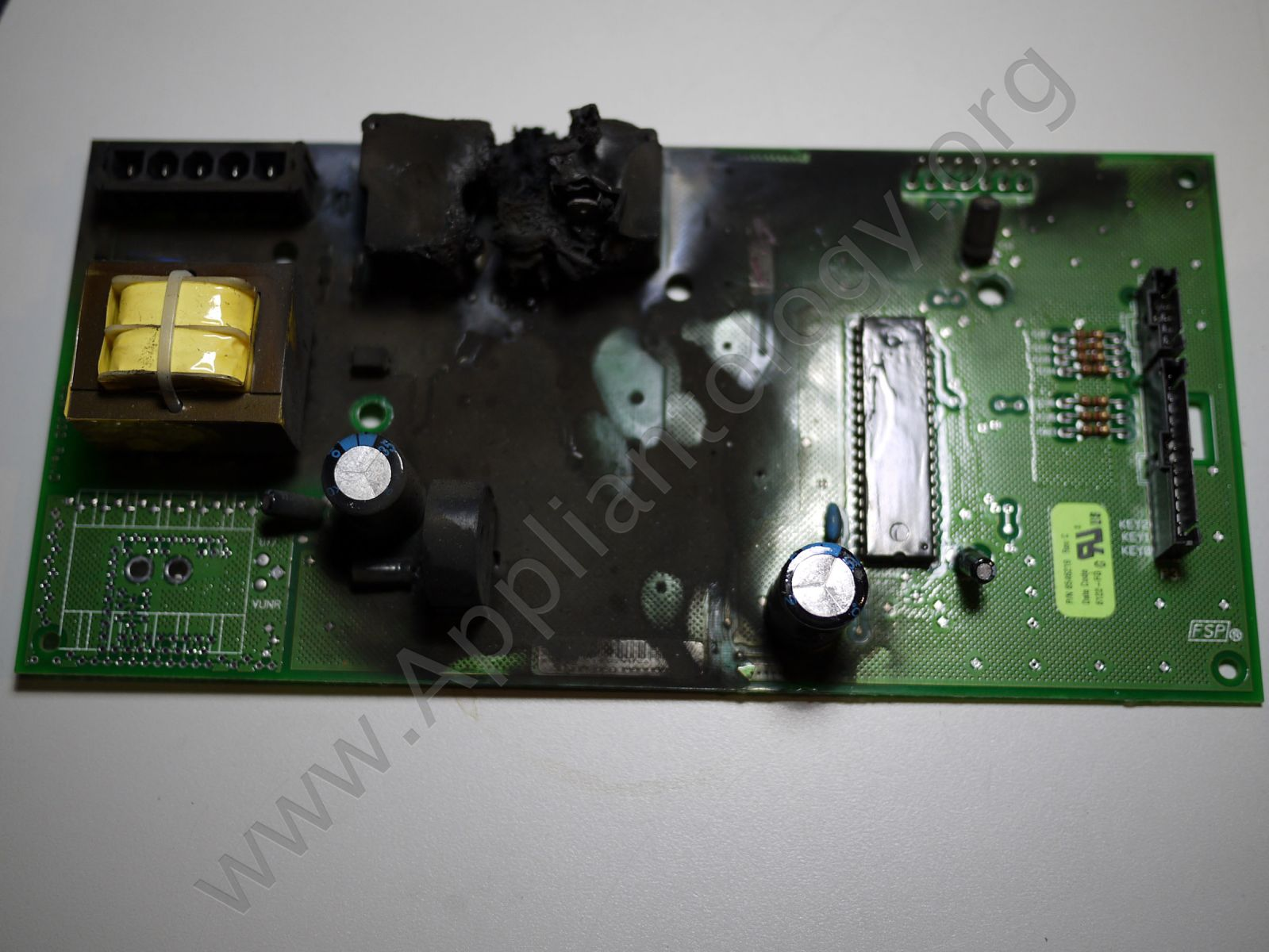 Smoked Whirlpool Duet Dryer Control Board