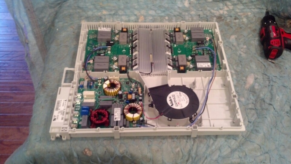 Electrolux Induction Cooktop Replacement Electronics Module