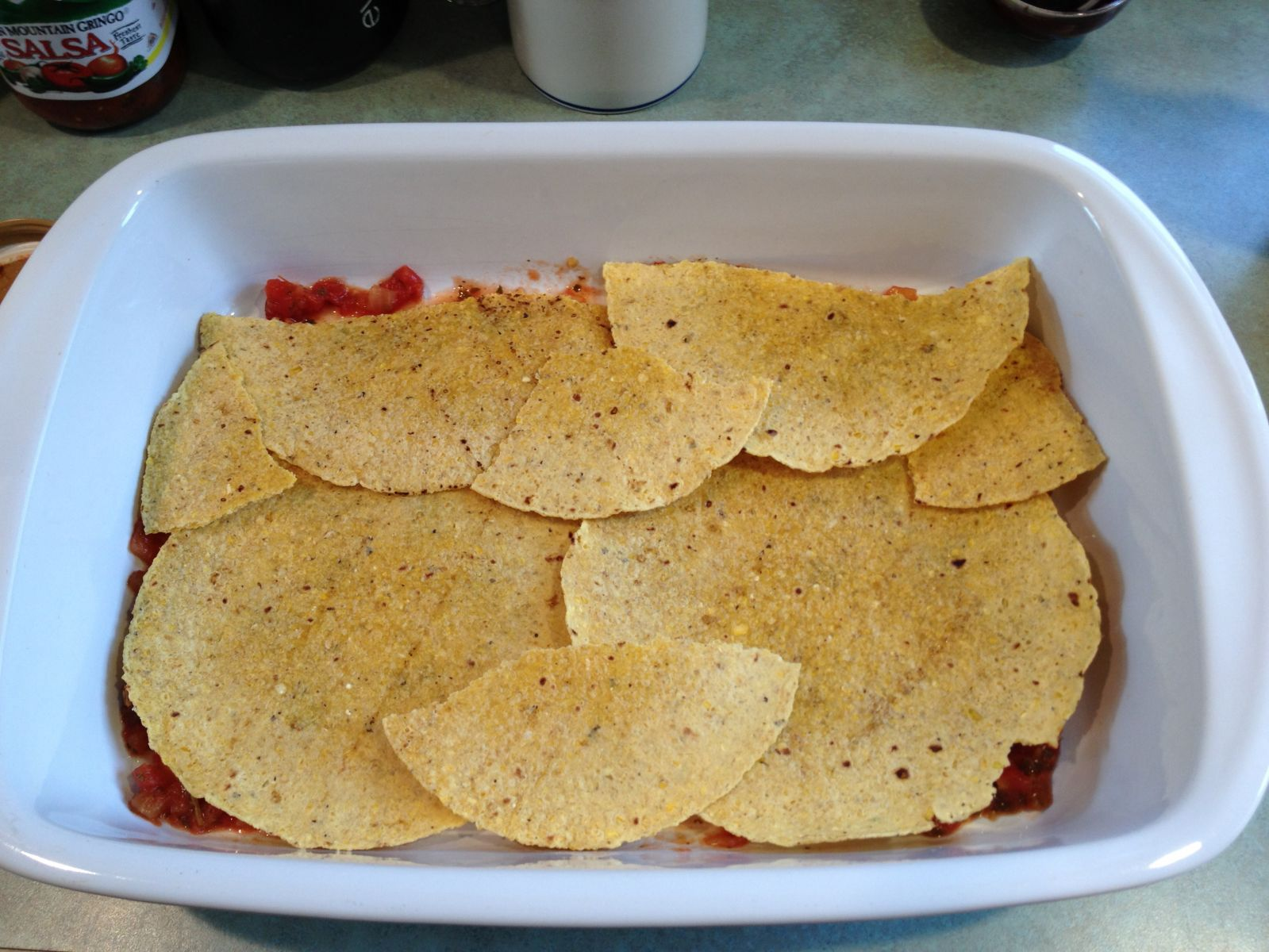 Enchilasagna step 2