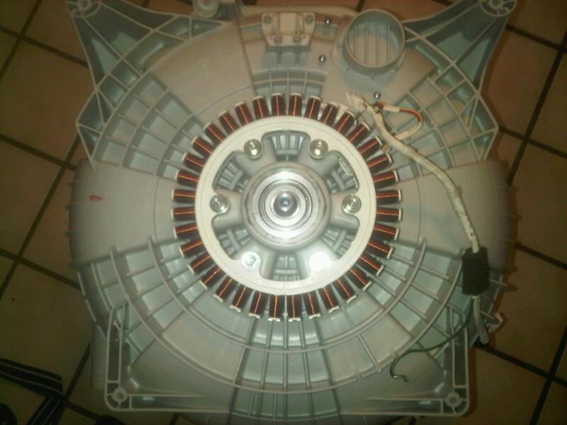 #2 - LG WM2487HRM tub bearing