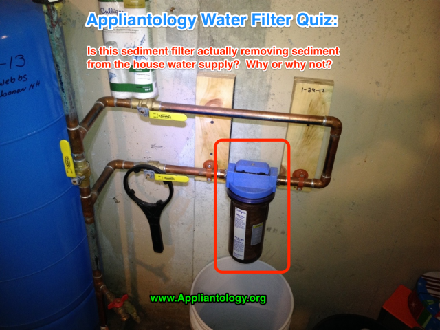 Appliantology Water Filter Quiz