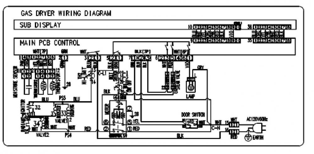schematic for samsung dryer get free image about wiring diagram