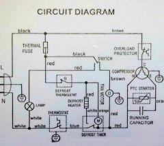 Danby Refrigerator Circuit Diagram