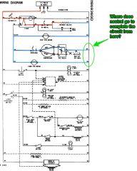 Whirlpool ED25RFXFW01 Refrigerator Schematic