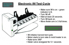 GE Electronic Icemaker Test Cycle