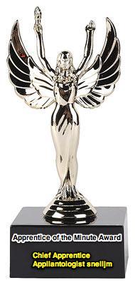 Apprentice Of The Minute Award:  Chief Apprentice Appliantologist snelljm