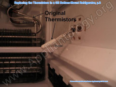 Replacing The Thermistors In A GE Bottom Mount Refrigerator, P.2