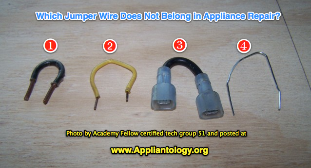 Jumper Wires In Appliance Repair