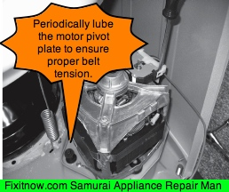 Maytag Atlantis Washer Motor Pivot Plate The