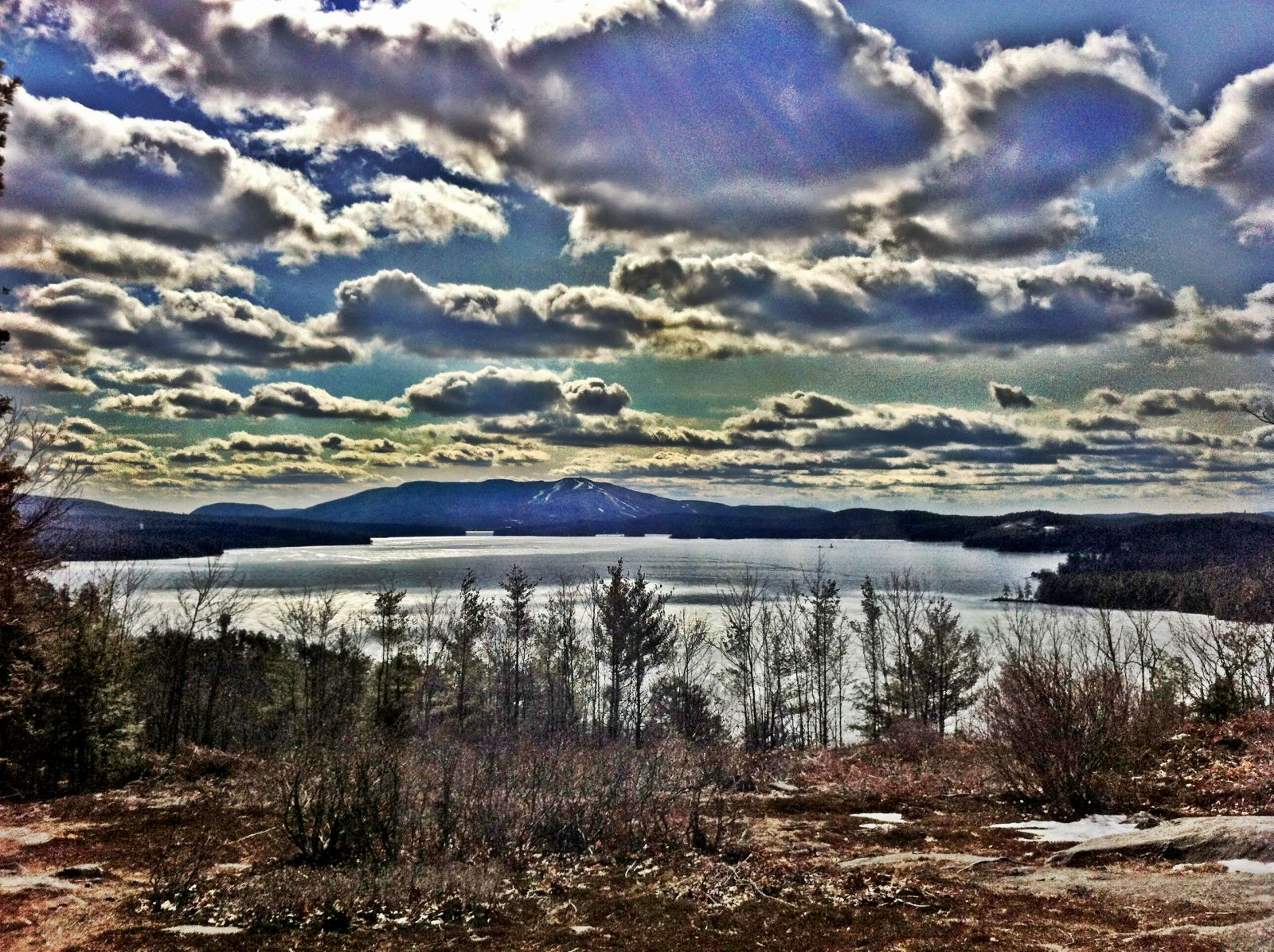 Strange Skies Over Lake Sunapee