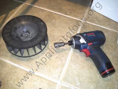 """Bosch 24"""" Axxis Dryer - Motor and Blower Replacement, 8 of 10"""