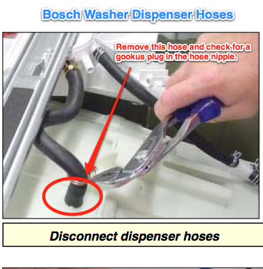 Bosch Washer Dispenser Hoses