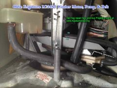 Oldie Frigidaire LC-248J Washer Motor Pump Belt: Overview