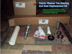 Cabrio Washer Tub Bearing And Seal Replacement Kit