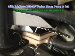 Oldie Frigidaire LC-248J Washer Motor, Pump, & Belt