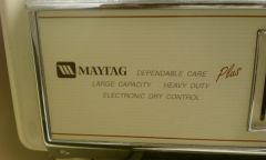 Maytag-Outside labeling