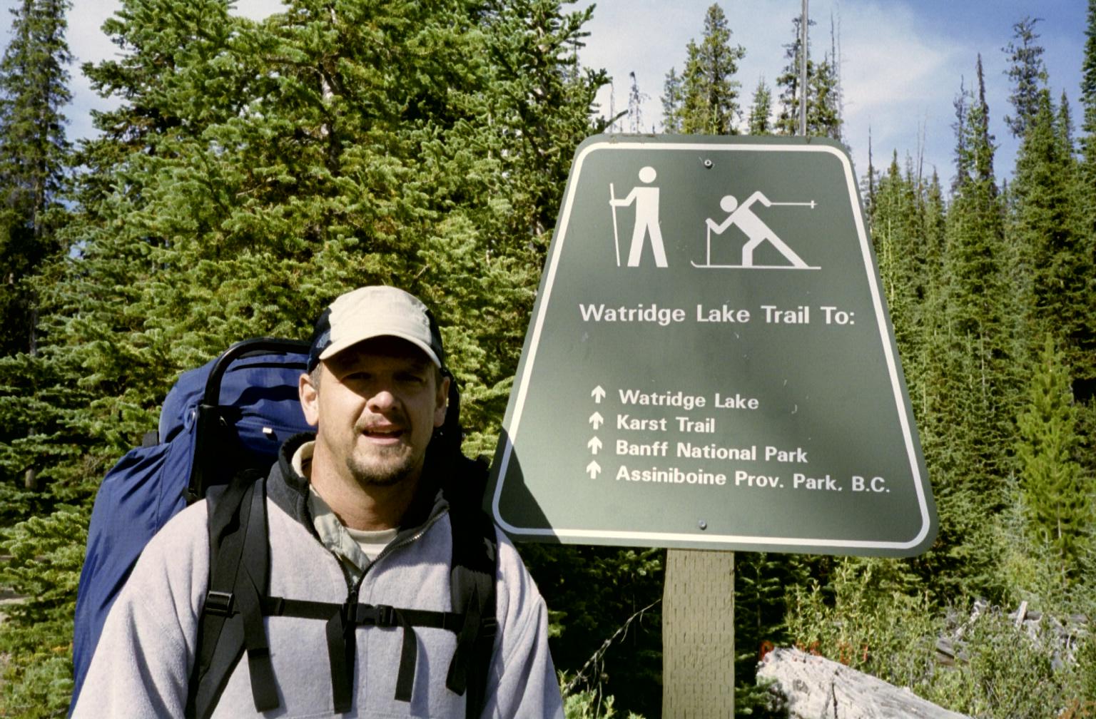 Huh? at the Trail Head