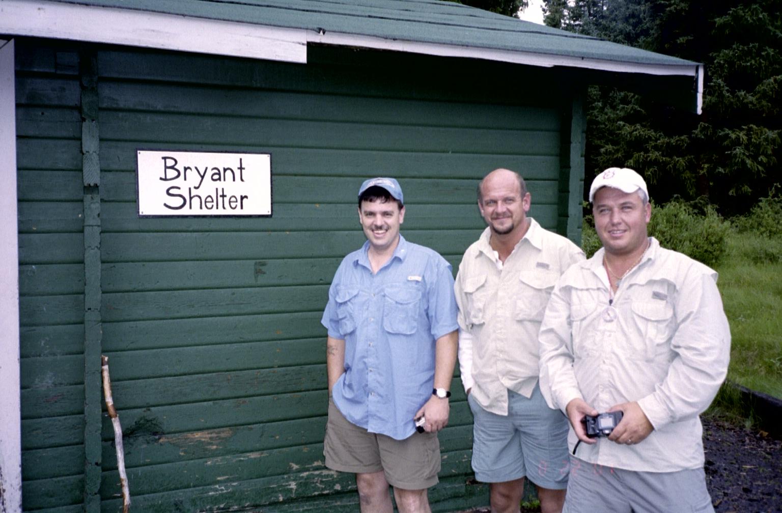 Tomscat, Huh?, and Fishnutz at Bryant Shelter