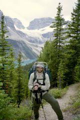 Moostafa on the Trail