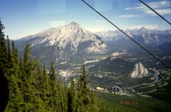 From the Tram in Banff (not a hiking hot)