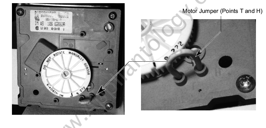 Manual Harvest on a Whirlpool Modular Ice Maker