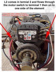 Dryer Motor Centrifugal Switch