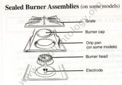 Typical Sealed Burner Assembly