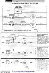 GE Downdraft Vent Model JVB94SH1SS Schematic And Tech Help