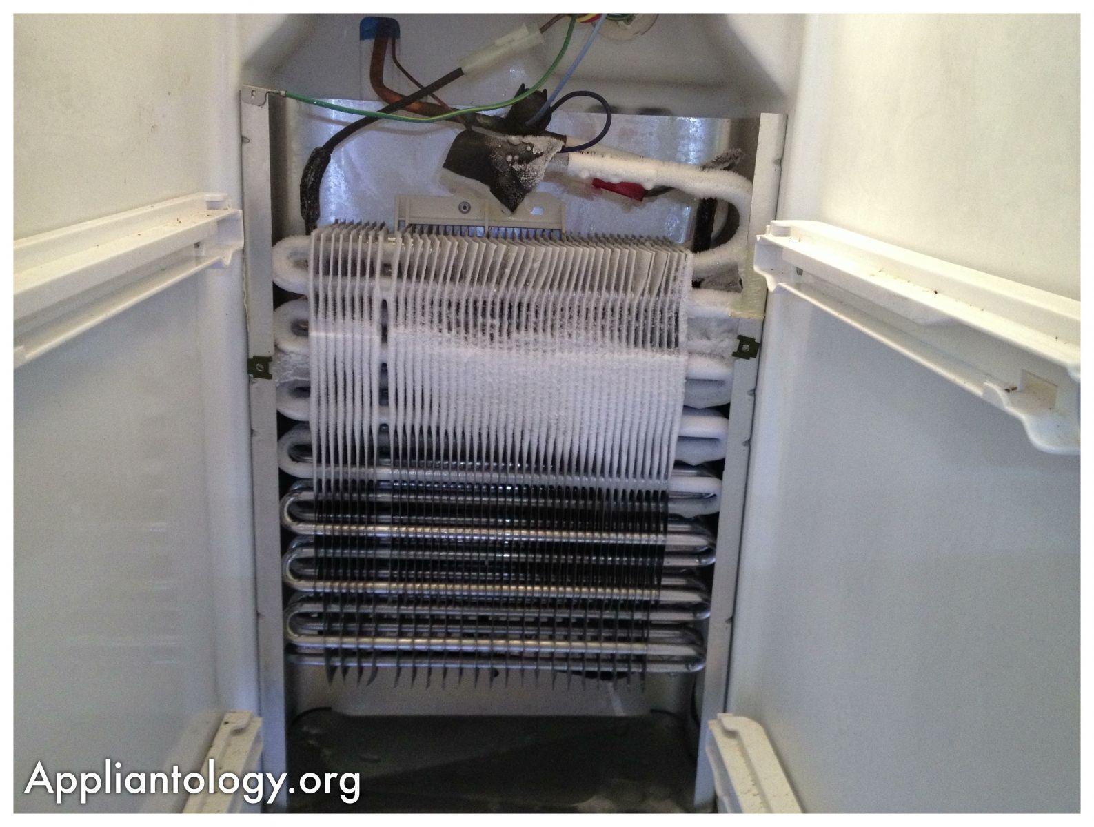 Where Are Evaporator Coils On Refrigerator