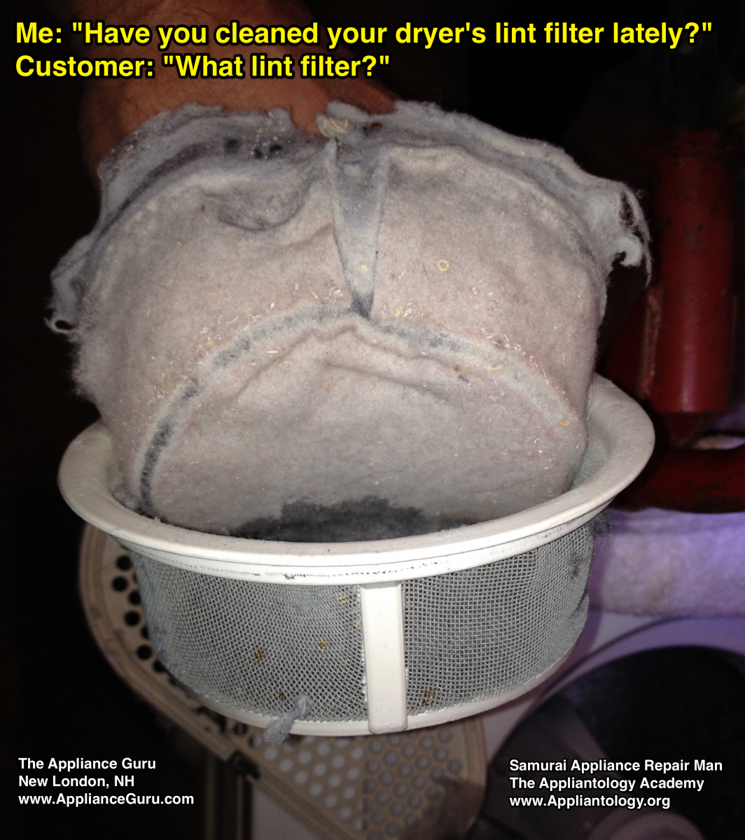Have you cleaned your dryer's lint filter lately?