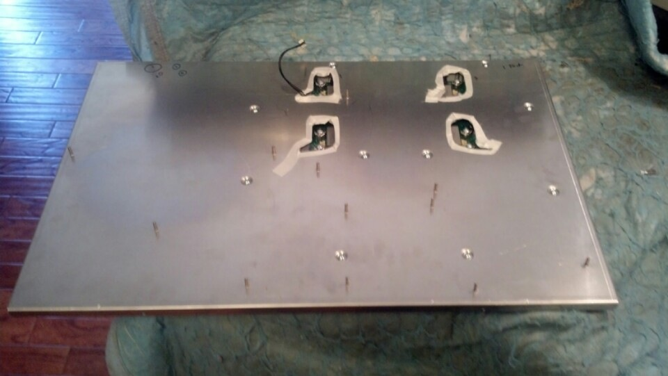 Electrolux Induction Cooktop Induction Burners Removed
