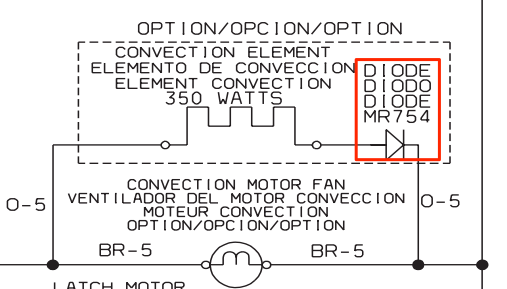Frigidaire Wall Oven Schematic Diode Topic
