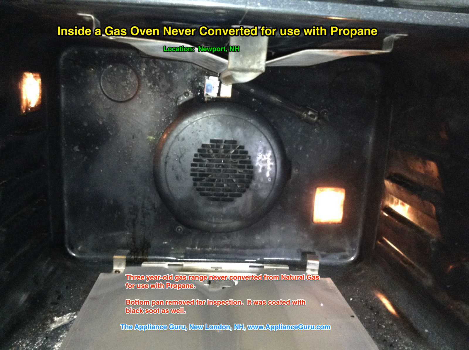 Soot A Clear and Present Danger in your Gas Oven Samurai