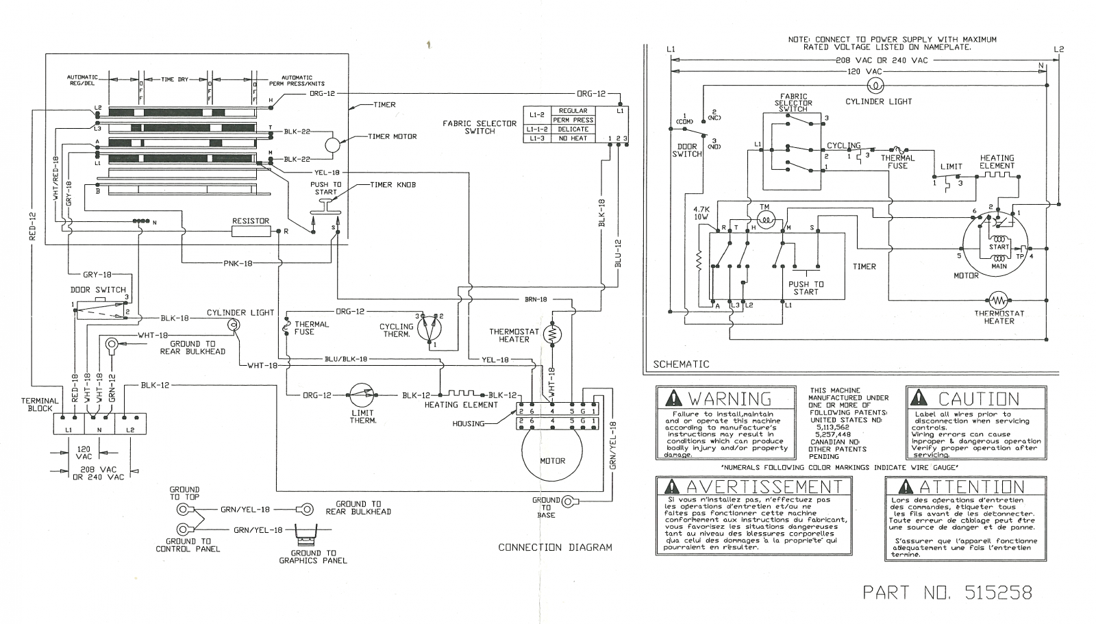 ADE3SRGS173TW01 Schematic